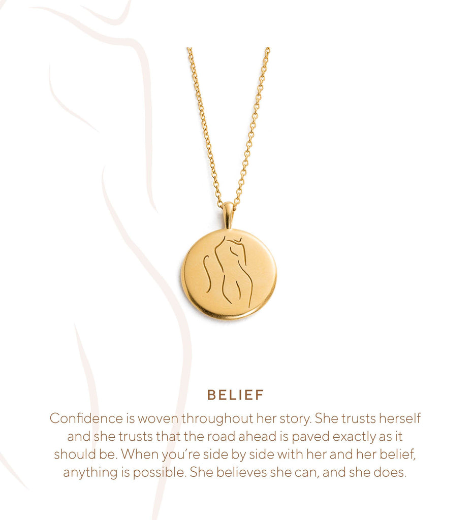 BELIEF AMULET (STERLING SILVER)