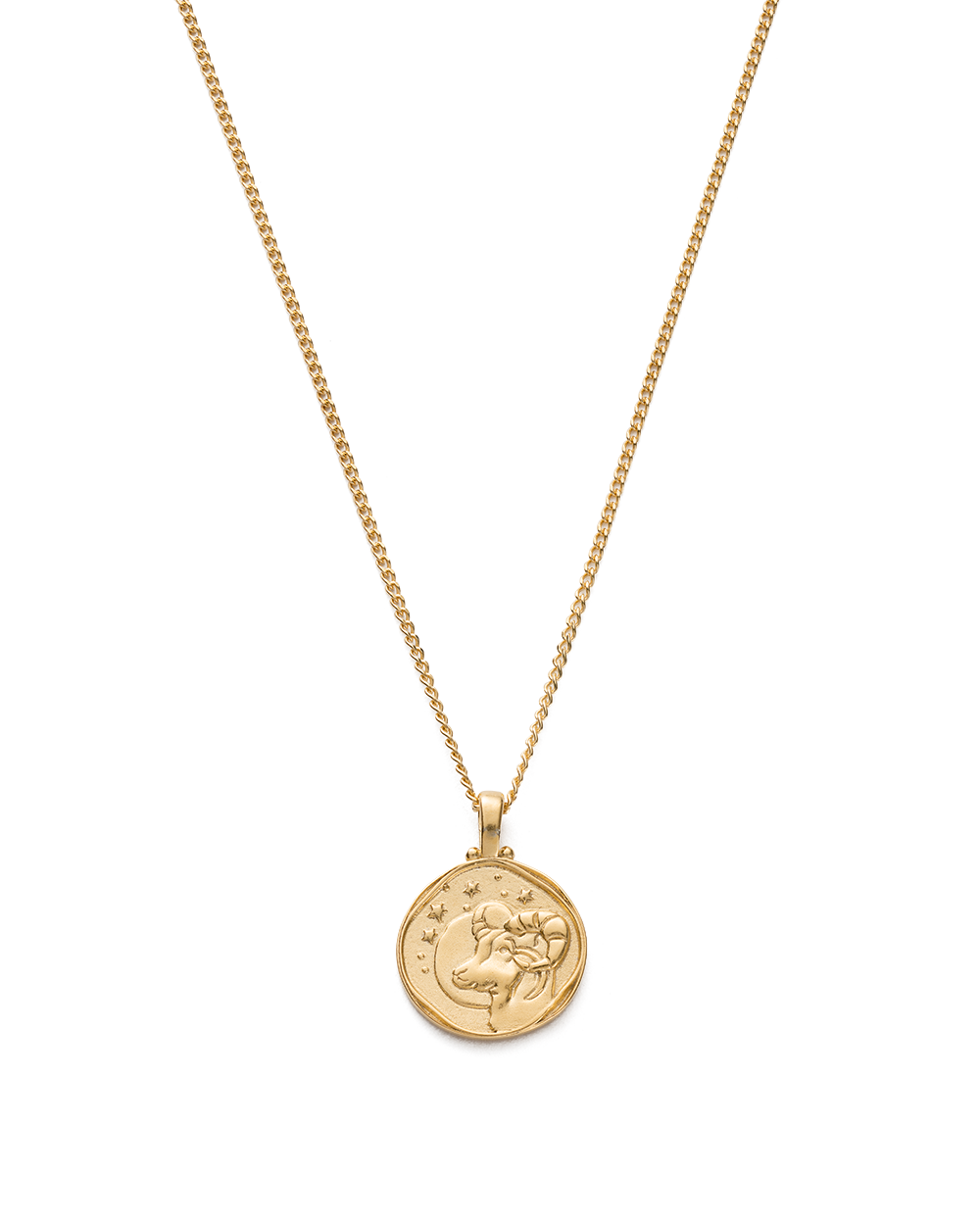 ARIES ZODIAC NECKLACE (18K-GOLD-VERMEIL)