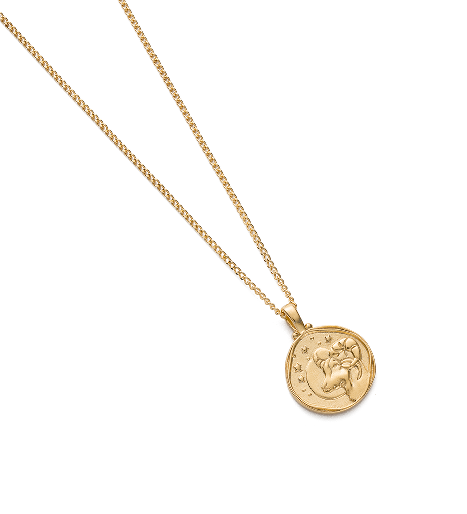 ARIES ZODIAC NECKLACE (18K-GOLD-VERMEIL) - Image 2
