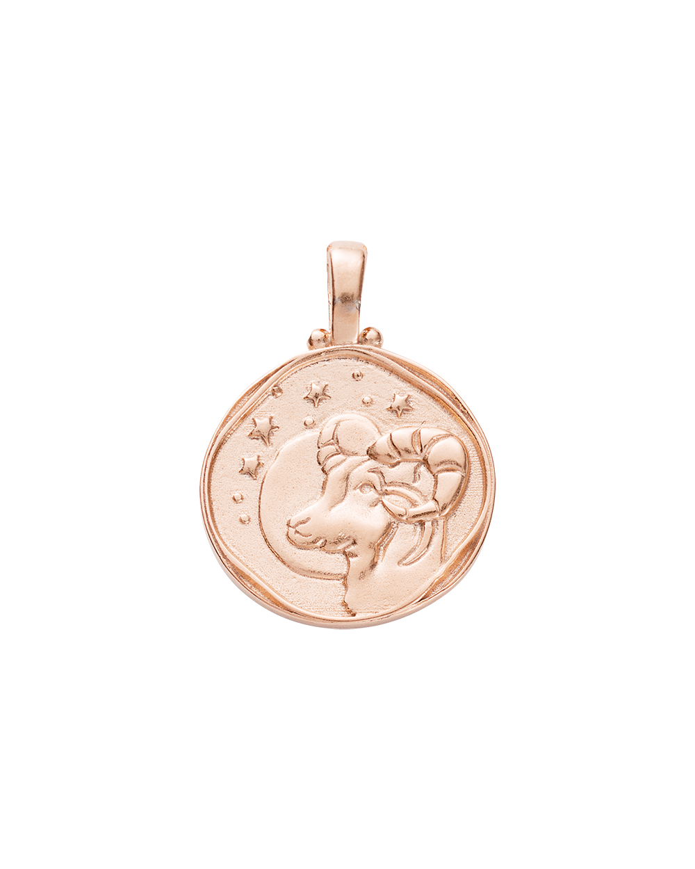 ARIES ZODIAC (18K-ROSE GOLD-VERMEIL)
