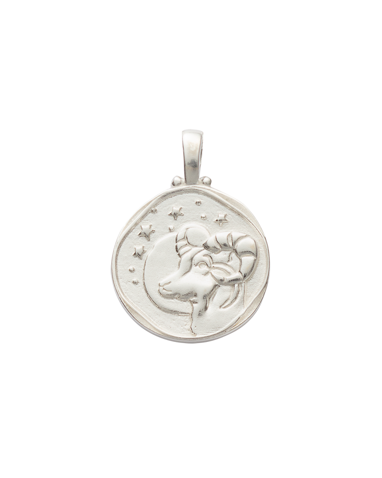 ARIES ZODIAC (STERLING SILVER)