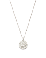 ARIES ZODIAC NECKLACE (STERLING SILVER)