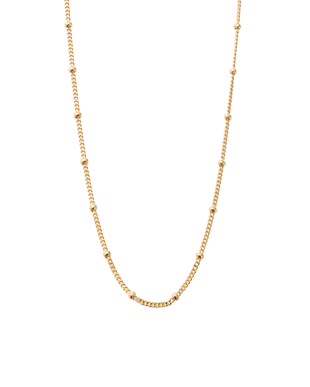 BESPOKE BALL CHAIN (18K-GOLD-VERMEIL)