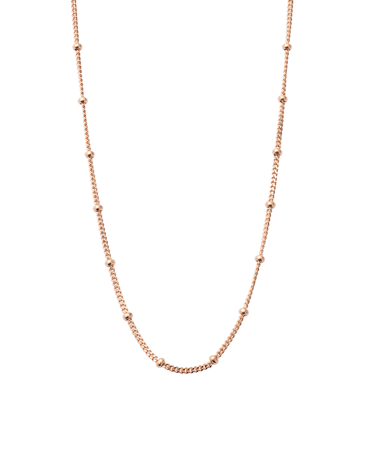 BESPOKE BALL CHAIN (18K-ROSE GOLD-VERMEIL)