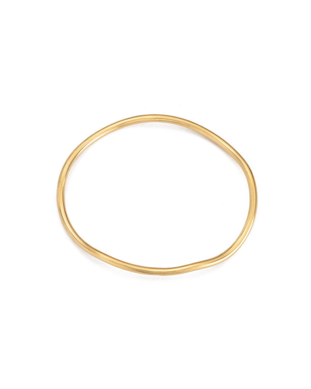 BOTANICA BANGLE (18K-GOLD-PLATED) - SIDE