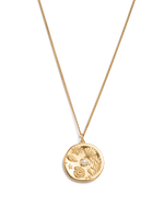 BY THE SEA COIN NECKLACE (18K-GOLD-VERMEIL)
