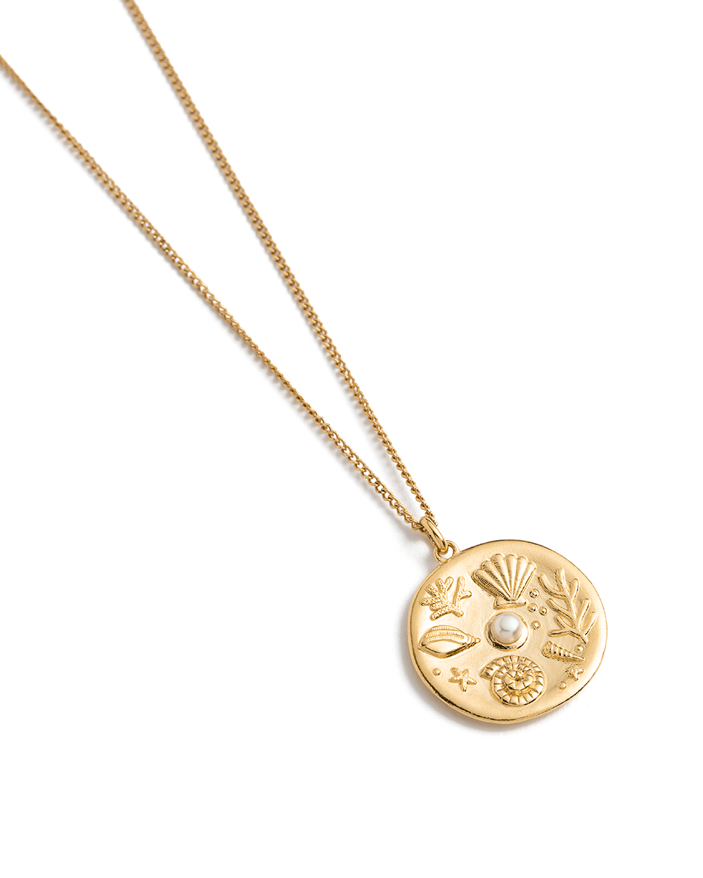 BY THE SEA COIN NECKLACE (18K-GOLD-VERMEIL) 02
