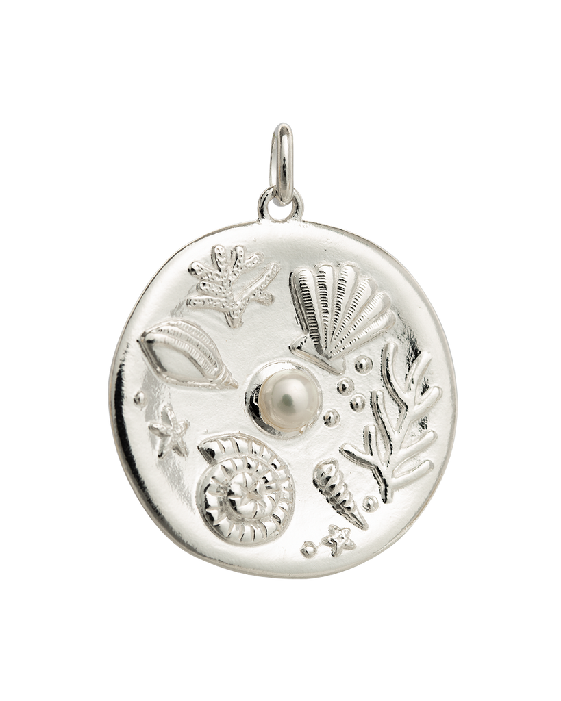 BY THE SEA COIN (STERLING SILVER) 01