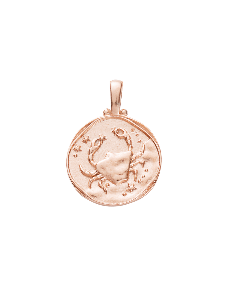 CANCER ZODIAC (18K-ROSE GOLD-VERMEIL)