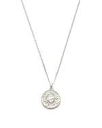 CANCER ZODIAC NECKLACE (STERLING SILVER)