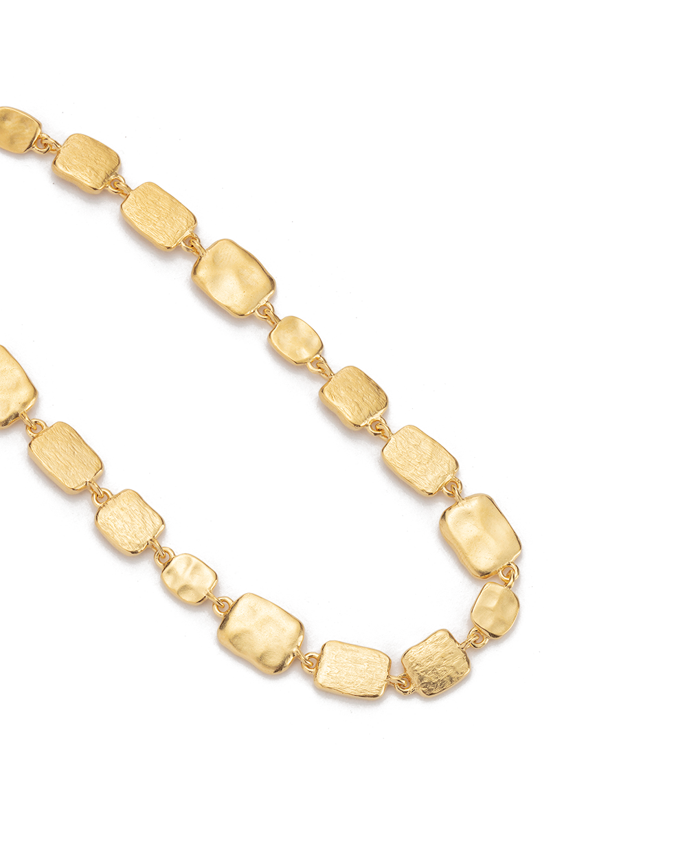 CASCADE BRACELET (18K-GOLD-PLATED) - SIDE