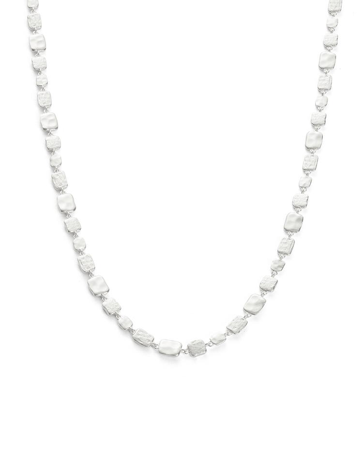 CASCADE NECKLACE (STERLING SIlVER) - FRONT