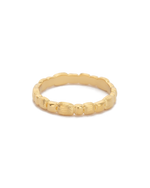 CASCADE RING (18K-GOLD-PLATED) - FRONT