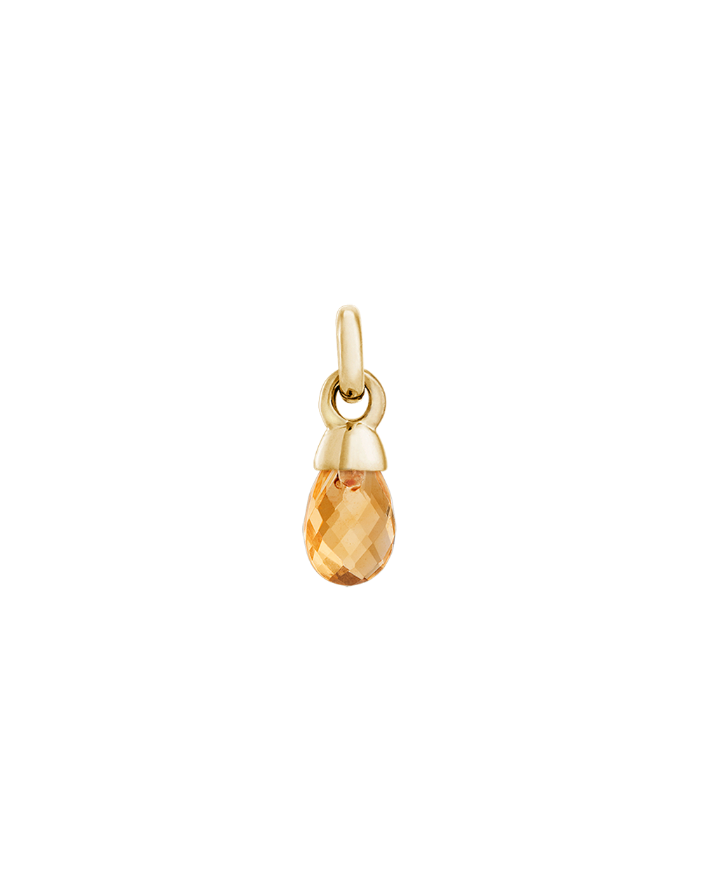 CITRINE GEMSTONE (18K-GOLD-VERMEIL)