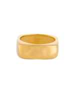 DAYBREAK RING (18K-GOLD-PLATED) - FRONT