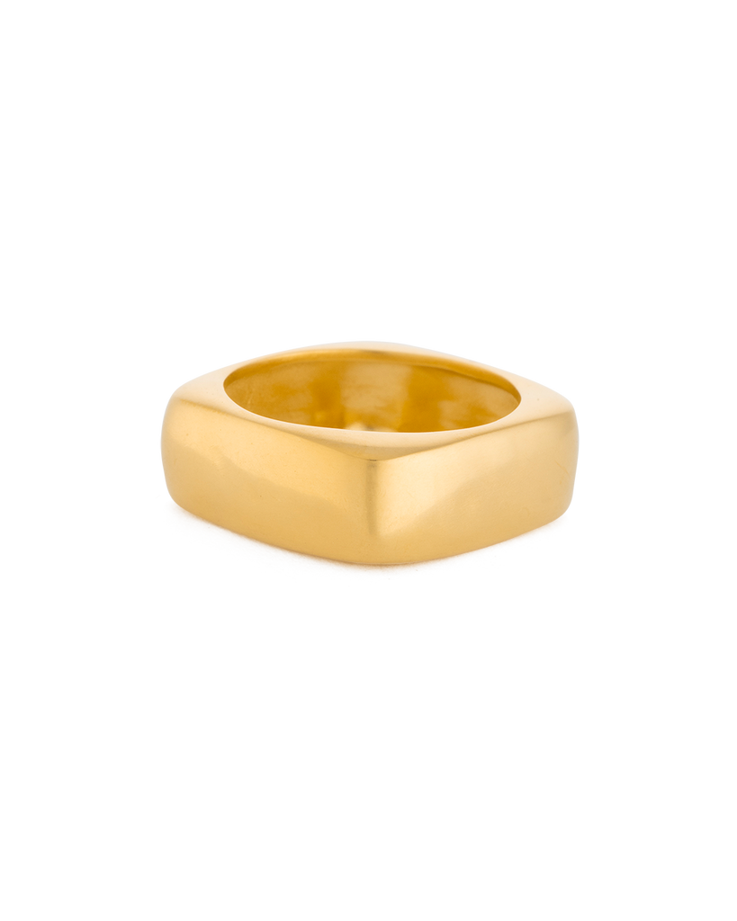 DAYBREAK RING (18K-GOLD-PLATED) - SIDE