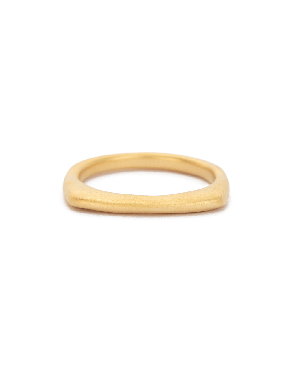 DAYBREAK STACKING RING (18K-GOLD-PLATED) - FRONT