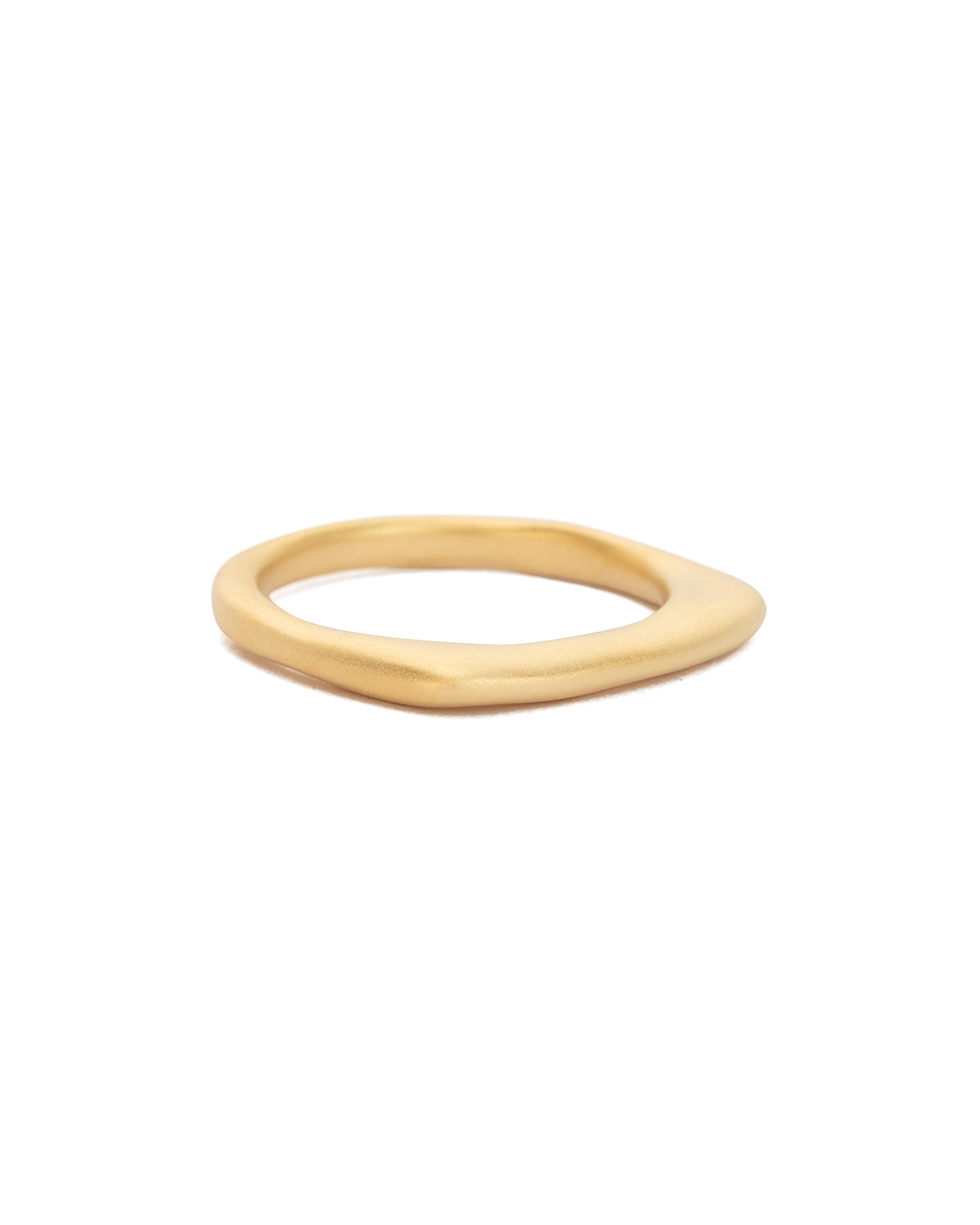 DAYBREAK STACKING RING (18K-GOLD-PLATED) - SIDE
