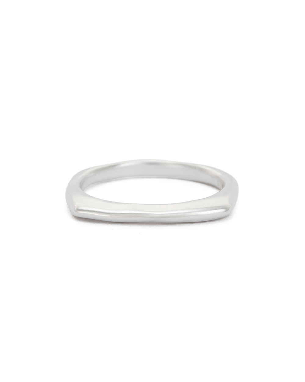 DAYBREAK STACKING RING (STERLING SIlVER) - FRONT