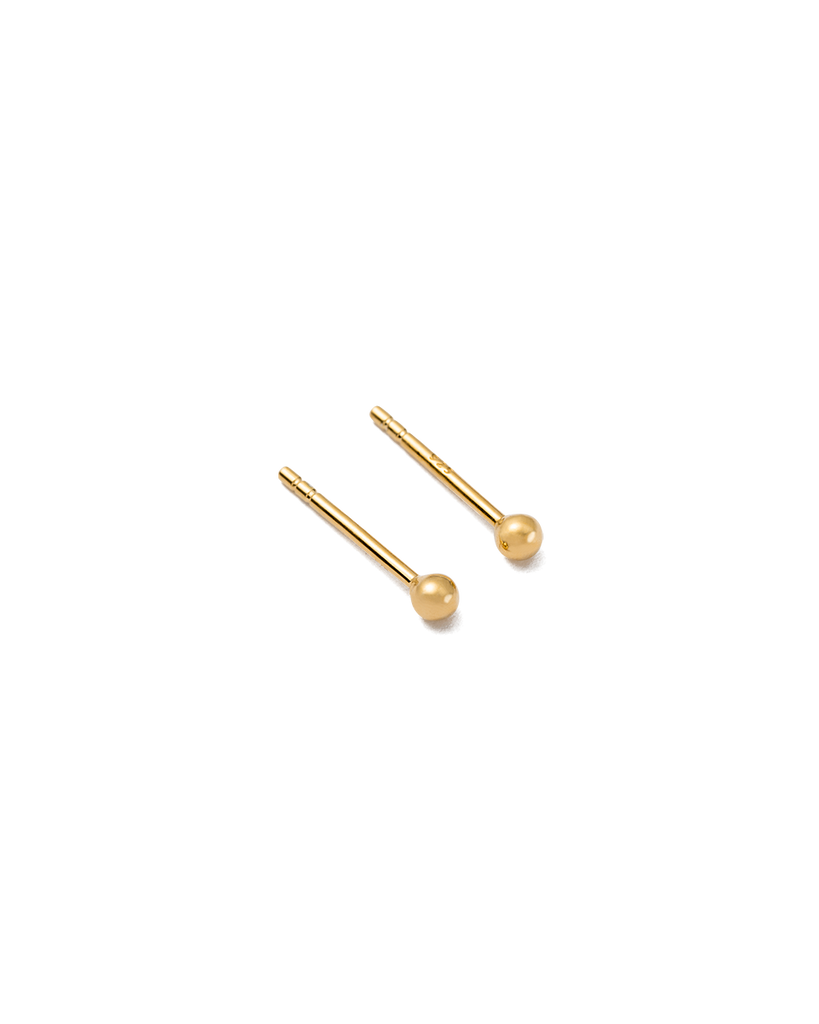 DOT STUDS (18K-GOLD-PLATED) - 02