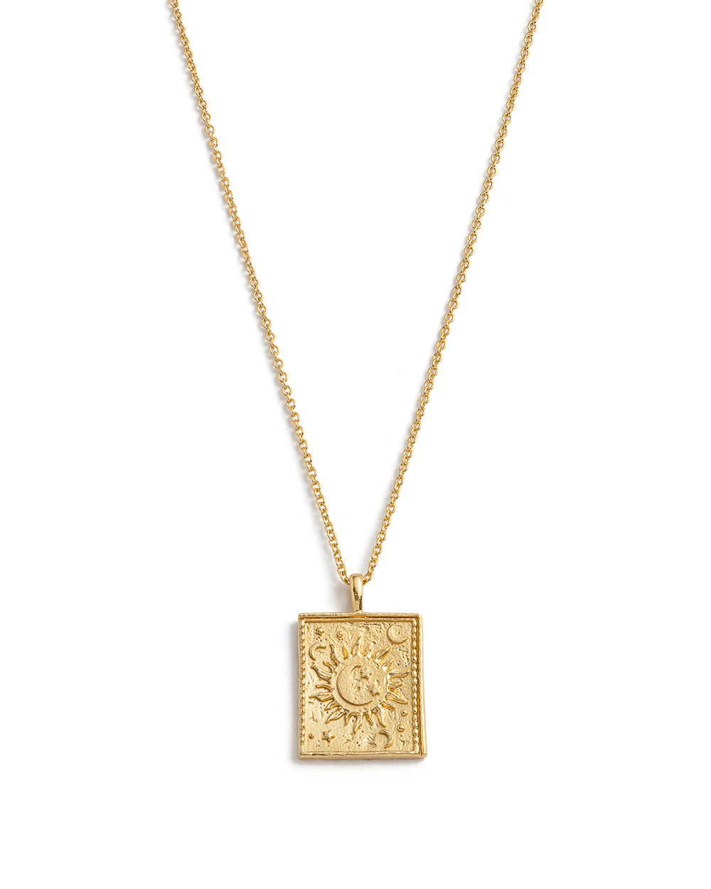 DUSK COIN NECKLACE (18K-GOLD-PLATED)