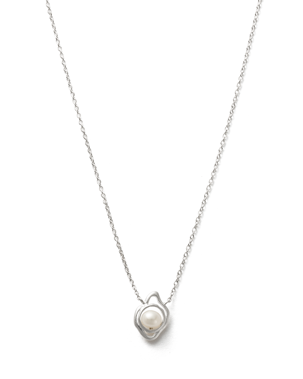 EBB AND FLOW NECKLACE (STERLING SILVER) - FRONT IMAGE