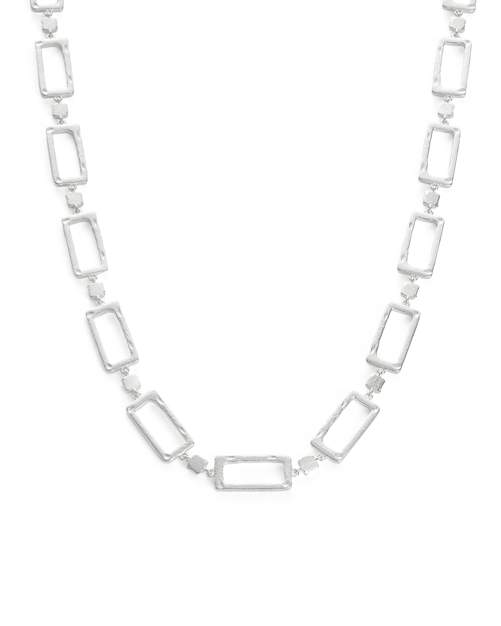 ELEMENTS CHAIN NECKLACE (STERLING SIlVER) - FRONT