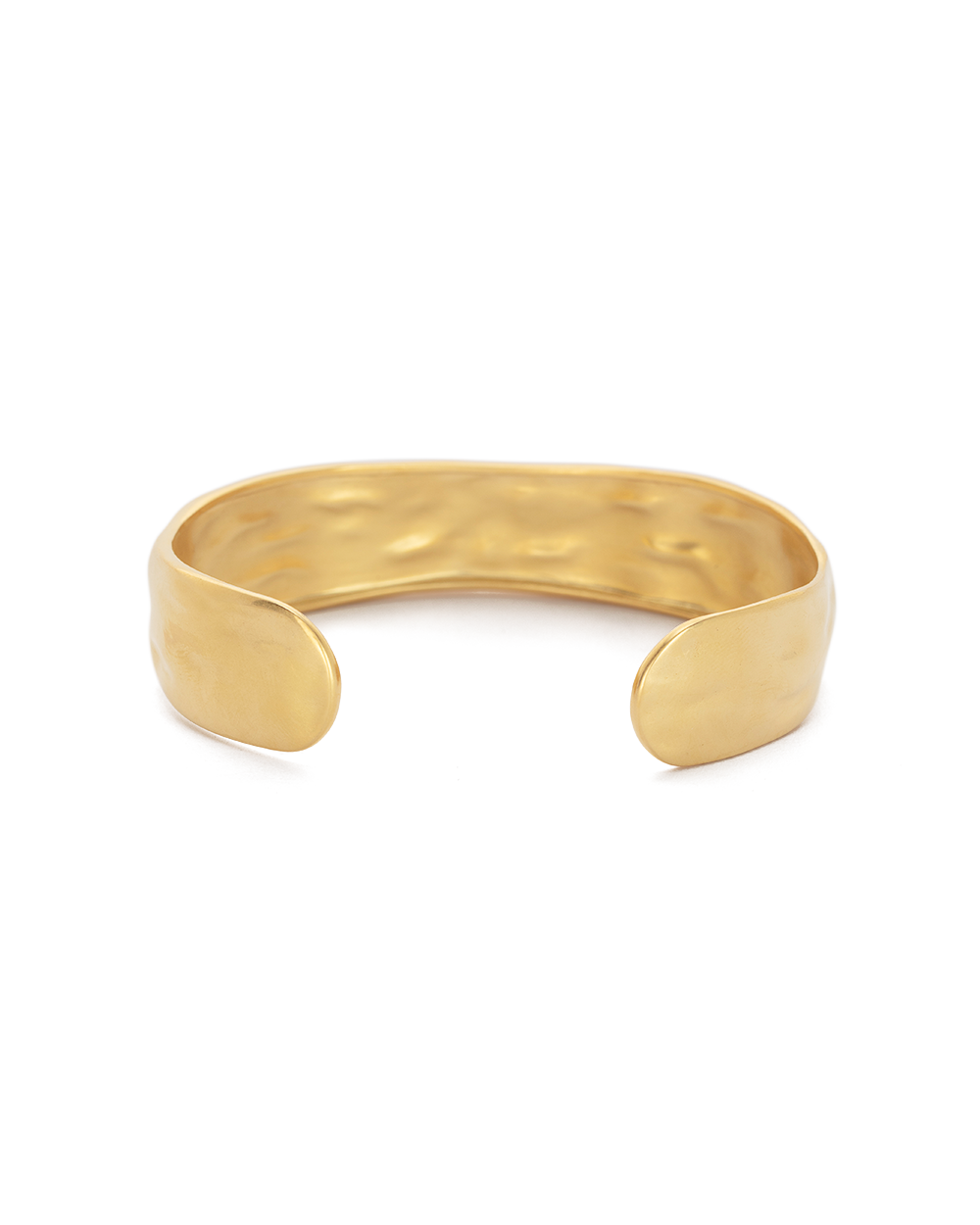 ELEMENTS CUFF MEDIUM (18K-GOLD-PLATED) -BACK