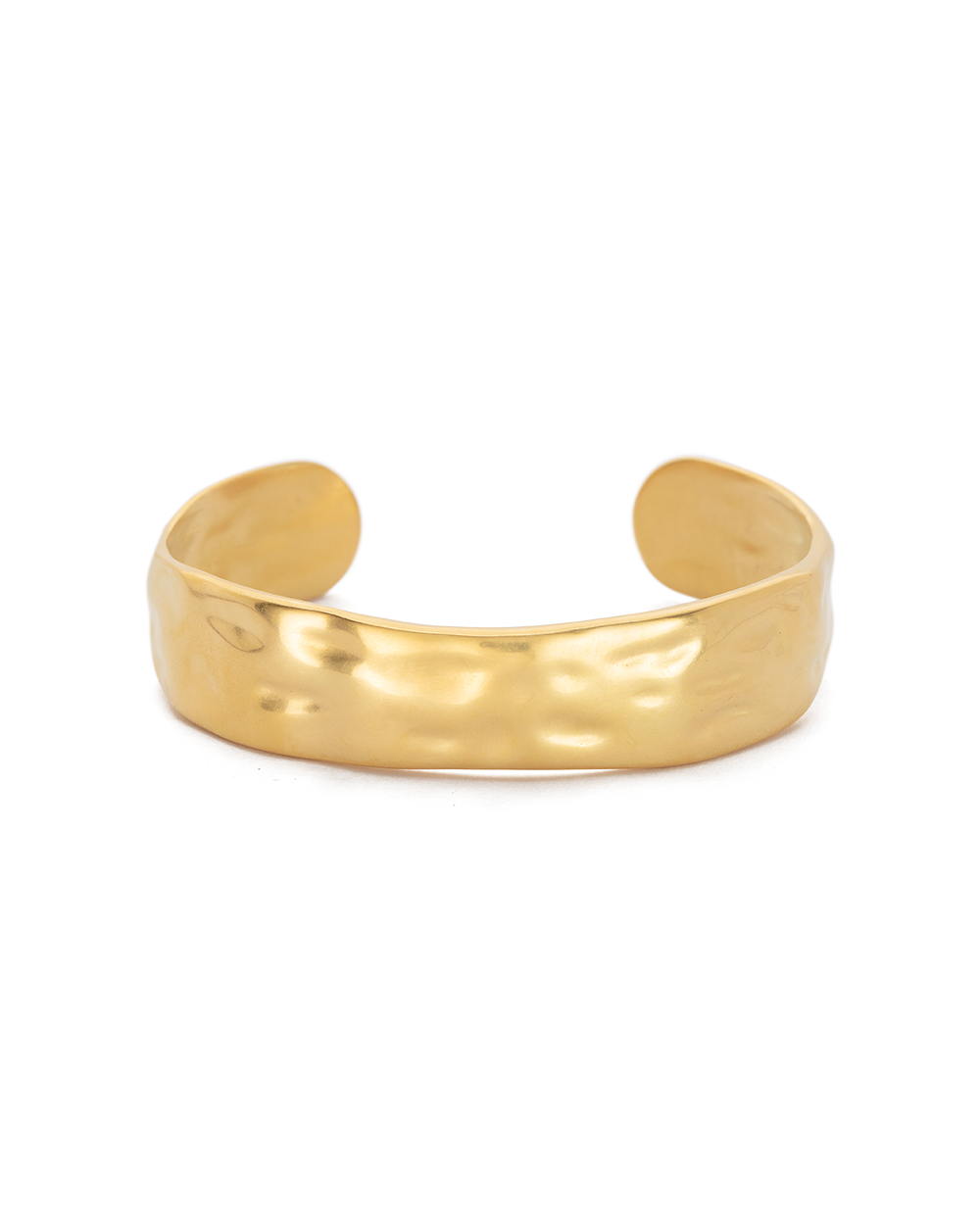 ELEMENTS CUFF MEDIUM (18K-GOLD-PLATED) - FRONT