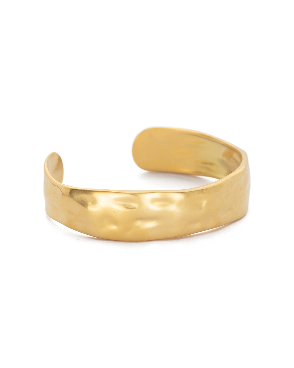ELEMENTS CUFF MEDIUM (18K-GOLD-PLATED) - SIDE