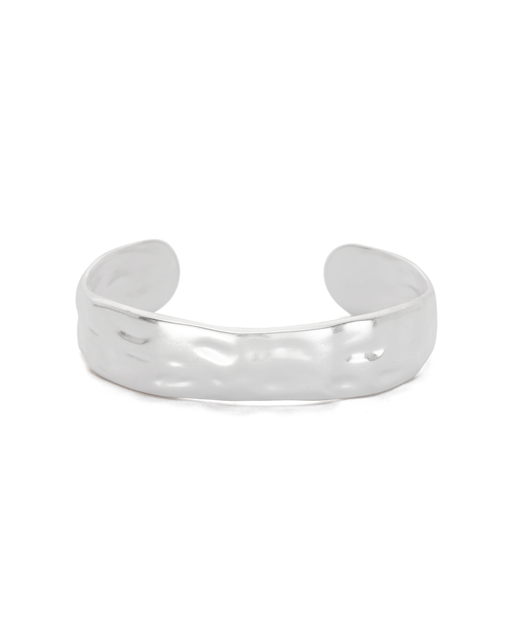 ELEMENTS CUFF MEDIUM (STERLING SILVER) - FRONT