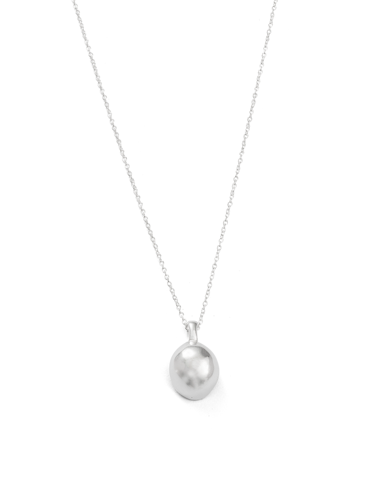 ESSENCE NECKLACE (STERLING SIlVER) - FRONT