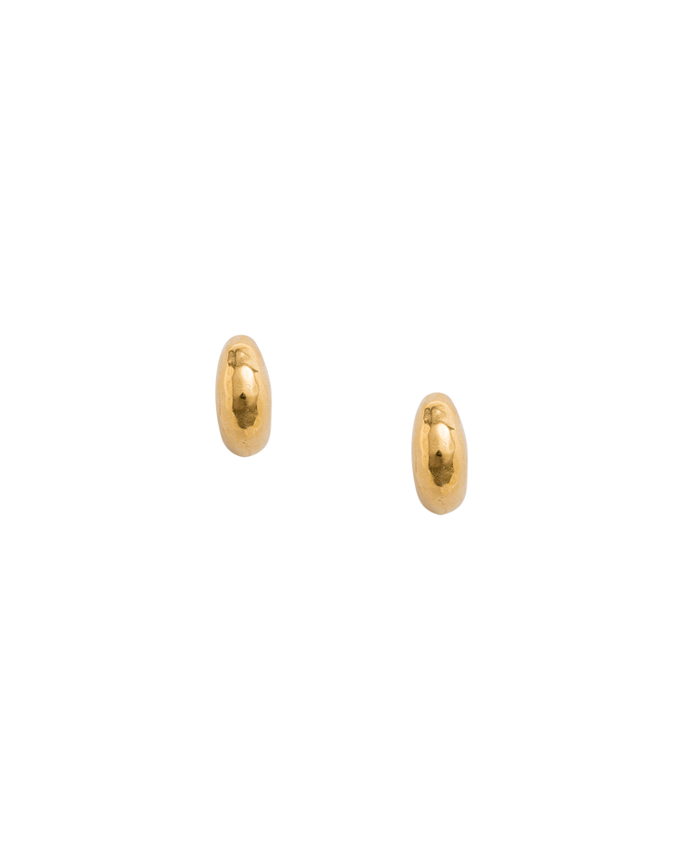 GOLDEN LIGHT 3/4 HOOPS (18K-GOLD-PLATED)
