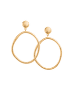 GOLDEN LIGHT EARRINGS (18K-GOLD-PLATED)