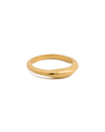 GOLDEN LIGHT STACKING RING (18K-GOLD-VERMEIL)