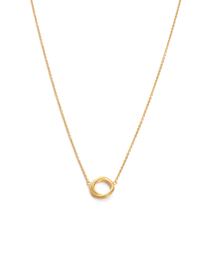 INFINITE NECKLACE (18K-GOLD-PLATED) - FRONT