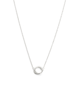 INFINITE NECKLACE (STERLING SIlVER) - FRONT