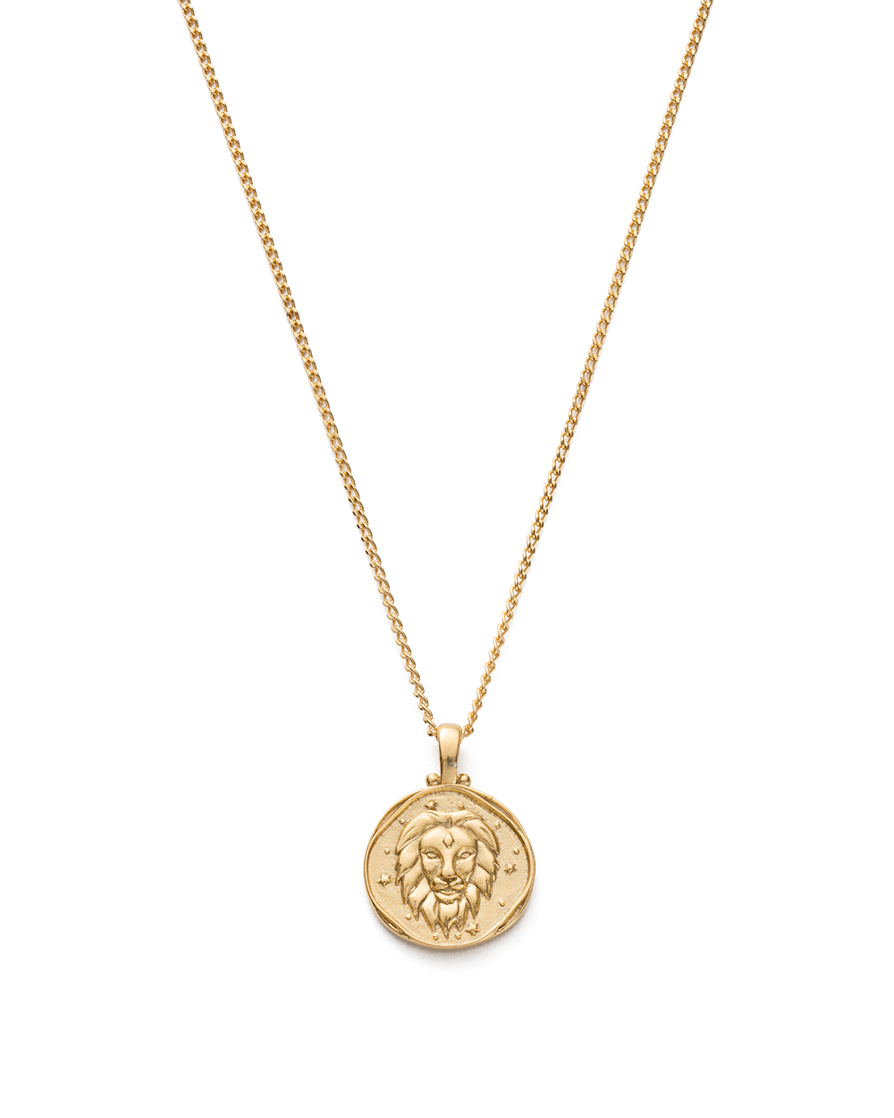 LEO ZODIAC NECKLACE (18K-GOLD-VERMEIL)