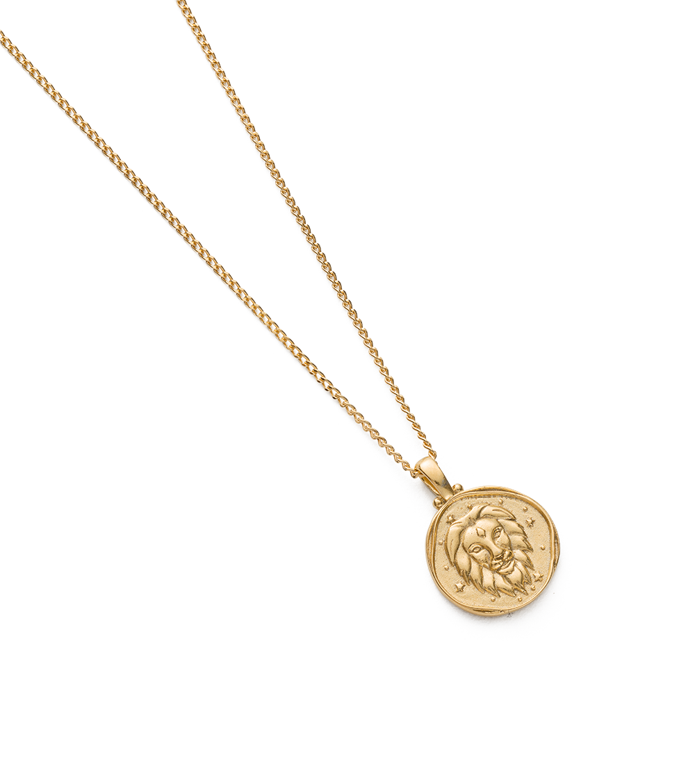 LEO ZODIAC NECKLACE (18K-GOLD-VERMEIL) - Image 2