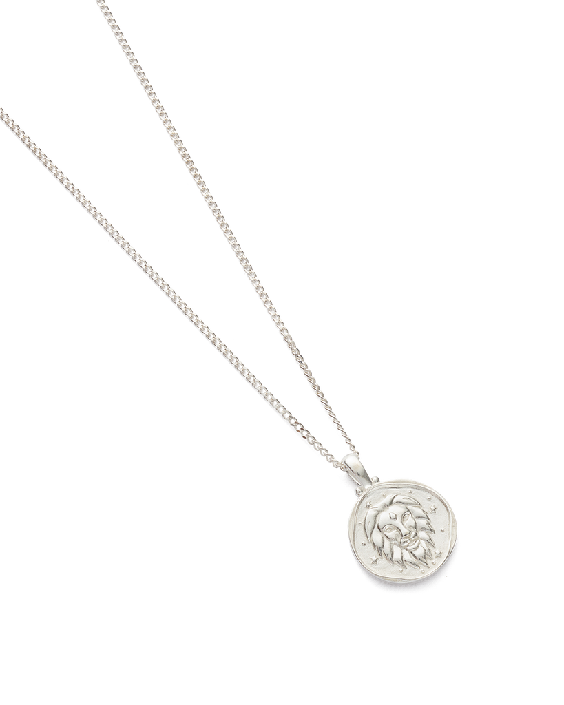 LEO ZODIAC NECKLACE (STERLING SILVER) - Image 2