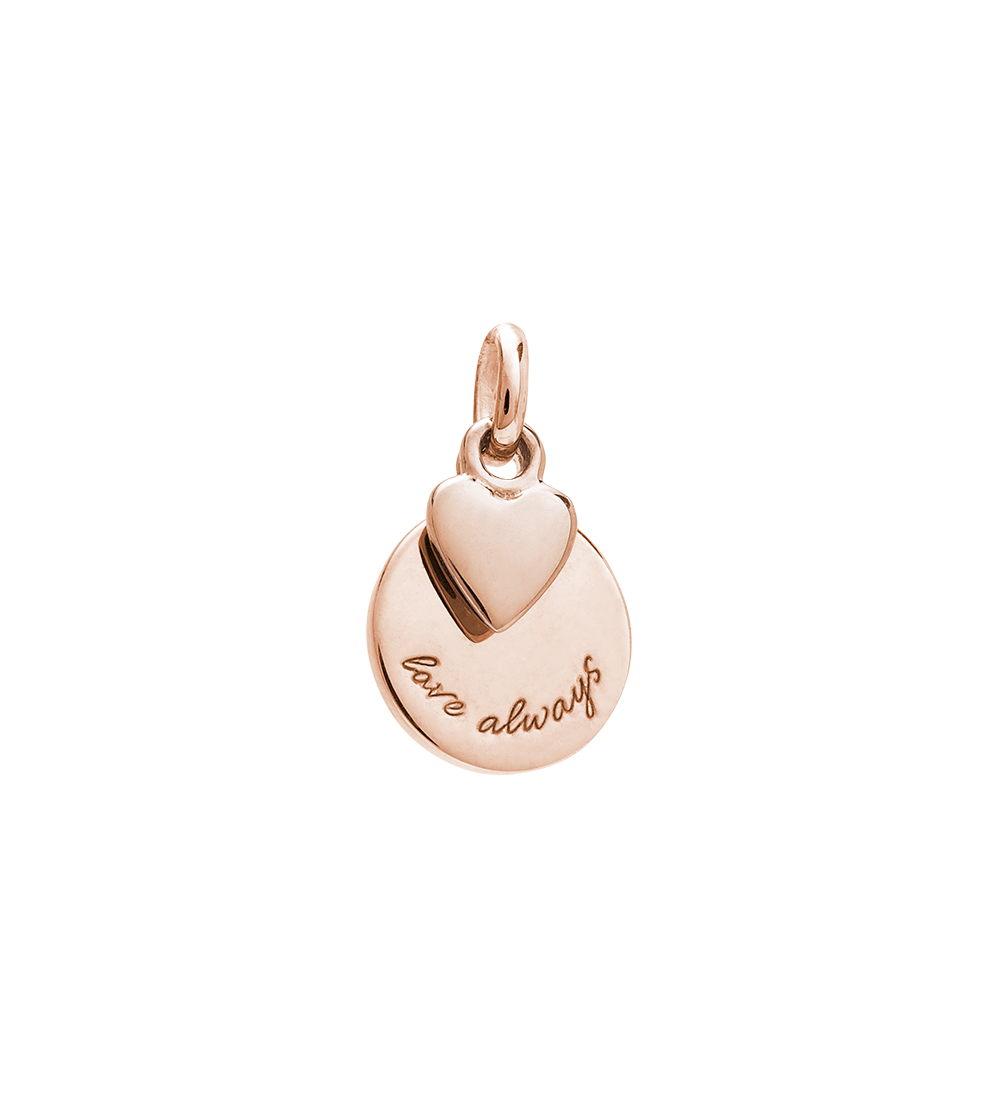 LOVE ALWAYS CHARM (18K-ROSE-GOLD-VERMEIL)