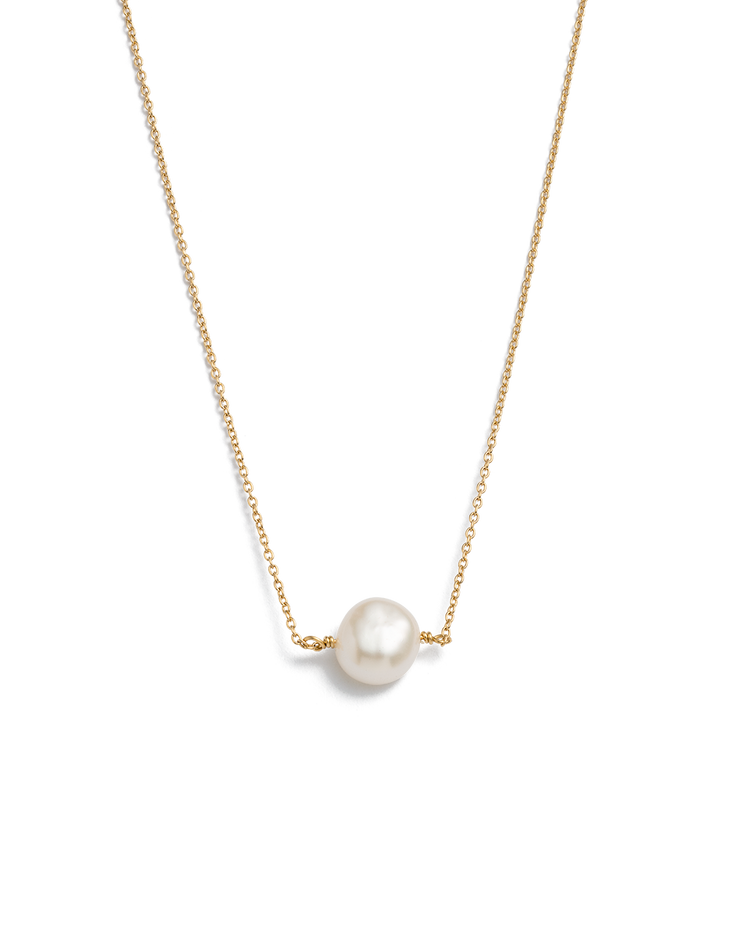 PEARL CHOKER (18K-GOLD-PLATED)