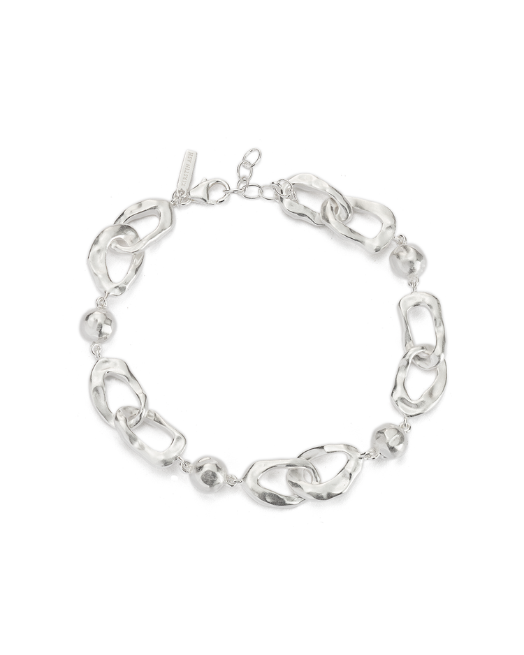 RENEWAL CHAIN BRACELET (STERLING SIlVER) - FRONT