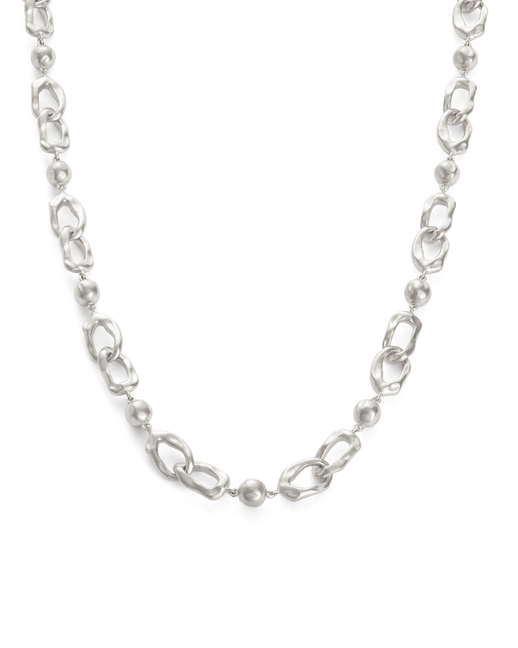 RENEWAL CHAIN NECKLACE (STERLING SIlVER) - FRONT