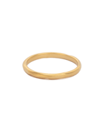 RENEWAL STACKING RING (18K-GOLD-PLATED) - FRONT
