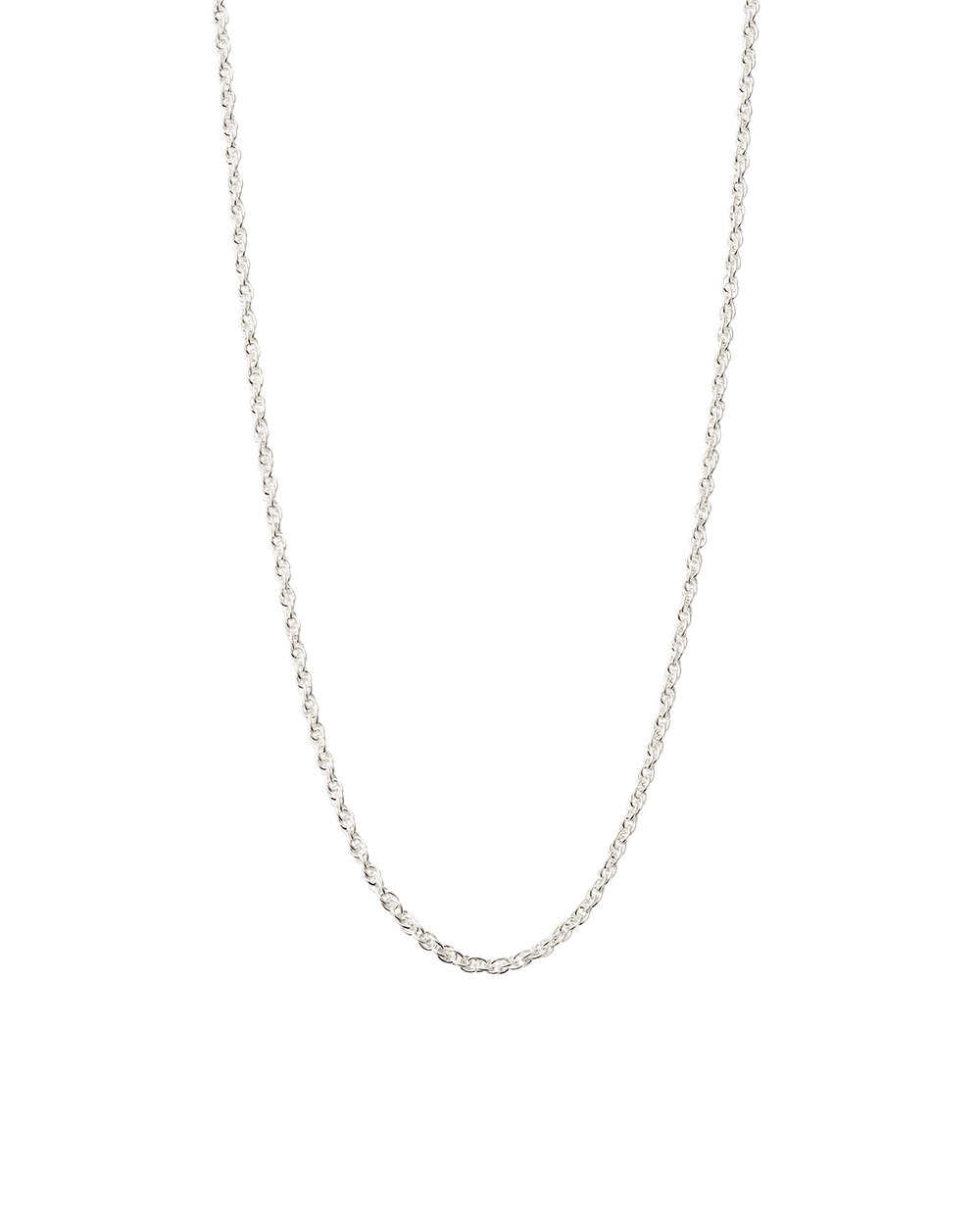 "ROPE CHOKER 14-16"" (STERLING SILVER)"