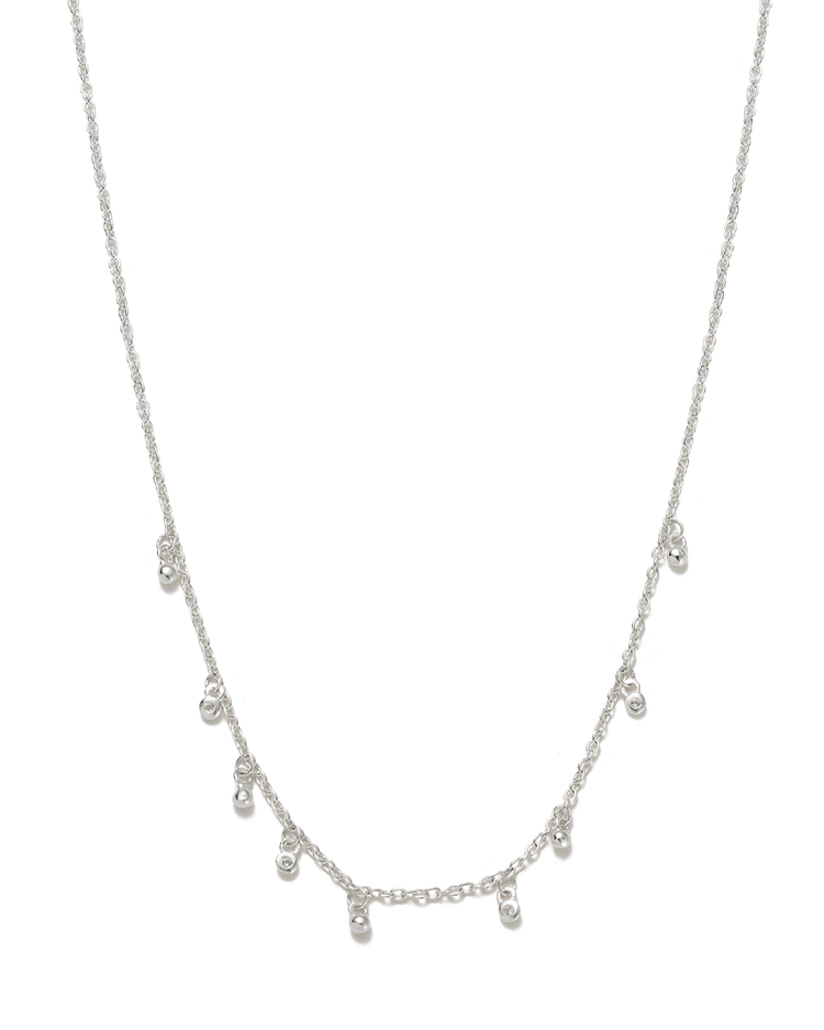 SEA MIST NECKLACE (STERLING SILVER) - FRONT IMAGE