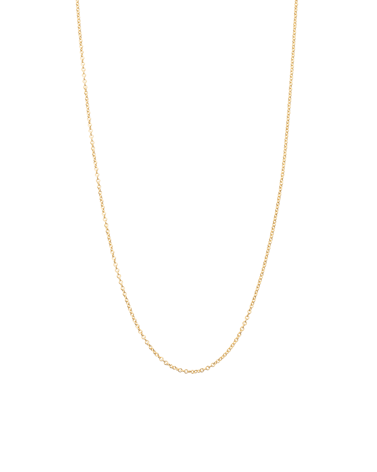 SOLID FINE CHAIN (14K GOLD)