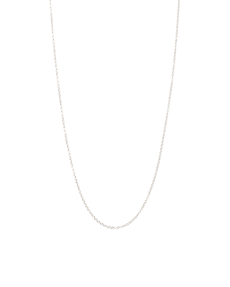 SOLID FINE CHAIN (STERLING SILVER)