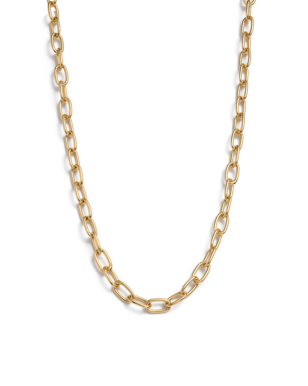 TIDAL CHAIN (18K-GOLD-PLATED)